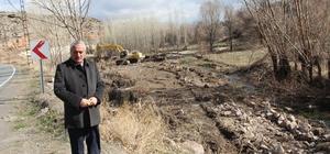İncesu Belediyesi Islah çalışmalarına Derebağ mevkiinde devam ediyor