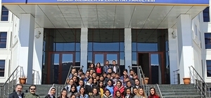 Hanaklı öğrencilerden ARÜ'ye ziyaret