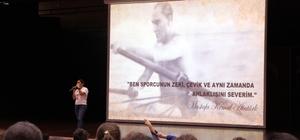 Spor kültürü ve olimpik eğitim projesi söyleşisi