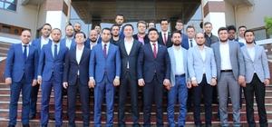 Manisa'da genç başkanlar güç birliği oluşturdu