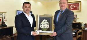 Rusya Başkonsolosu'ndan Başkan Yücel'e ziyaret
