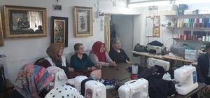 Başkan Alemdar'dan SAMEK kurslarına ziyaret