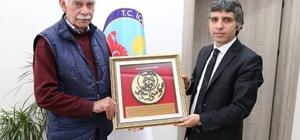 Kaymakam Turan'a Oltu Hükümeti Riyaseti
