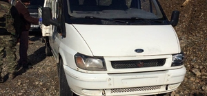 Hakkari'de yola tuzaklanan 300 kilogram patlayıcı imha edildi
