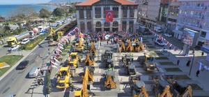 Ordu Büyükşehir gücüne güç kattı