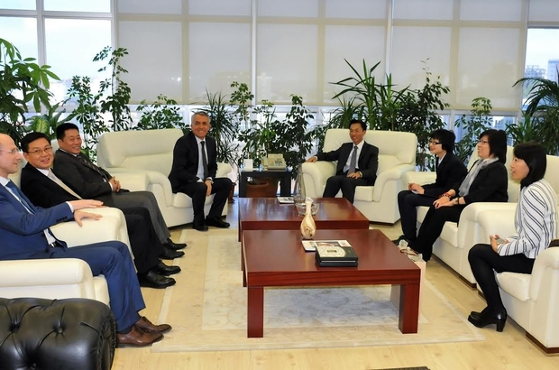 Çin Büyükelçisi OMÜ'de