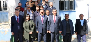 Gıda Tarım ve Hayvancılık Bakanlığı Müsteşarı Yazıcı Harran'da