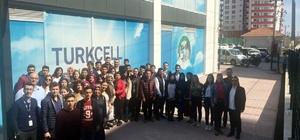 Üniversite öğrencilerinden çağrı merkezine ziyaret