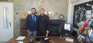 Osmanlı Ocaklarından Tepebaşı MHP'ye ziyaret