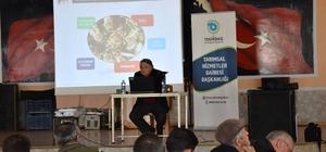 Şarköy'deki arıcılara Verimliliği Arttırma Eğitimi verildi