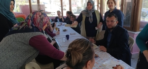 Kangırlılı kadınlardan Umurbey Belediyesi bilgi evine ziyaret