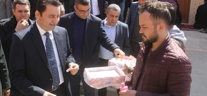 Mardin'de şehitler için mevlidi şerif okutuldu