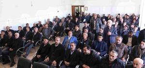 Varto Kaymakamı Çetin köy ve mahalle muhtarları ile bir araya geldi