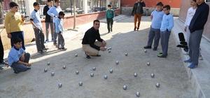 Turgutlu Belediyesinden öğrencilere Bocce sahası