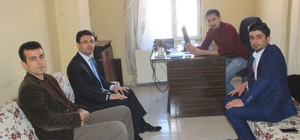 YDP Genel Başkanı Gürbüz İHA'yı ziyaret etti