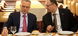 Maliye Bakanı Ağbal Mersin'de