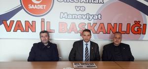 SP Van İl Başkanlığı Mart Ayı Divan Toplantısı yapıldı