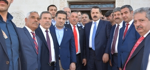 Bakan Çeklik Ziraat Odası Başkan Ekinciyi ziyaret etti