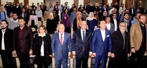 Erzurum'da sınırları aşacak yüz genç sloganı ile İslam Dünyası ve Diplomasi Eğitimi