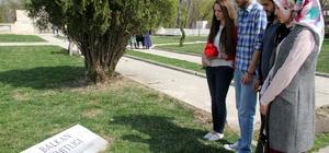 Öğrenciler Balkan Şehitlerini andı