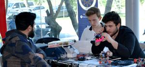 YTÜ'de robotlar yarışıyor