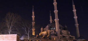 """Edirne'den """"Dünya Saati"""" hareketine destek"""