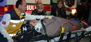 Aksaray'da trafik kazaları: 5 yaralı