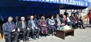 Erzincan'da 3 derslikli anaokulunun temeli atıldı