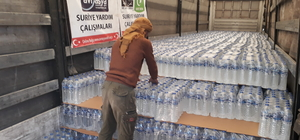 Suriye'deki ailelere yardım