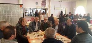 AK Partililer esnafla buluştu