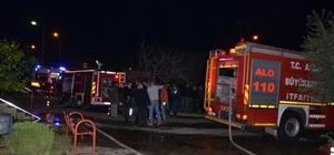 Nazilli'de 10 katı apartmanda çıkan yangın korkuttu