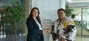 Başkan Atasoy, Crans Montana Forum toplantısına katıldı