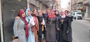 AK Partili kadınlar sokaklarda