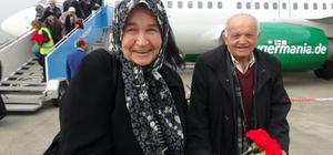 Zonguldak-Düsseldorf uçak seferleri başladı