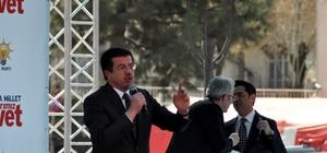 """Bakan Zeybekci; """"17 Nisan'da Uşak'ta diz kıra kıra Zeybek oynayacağız"""""""