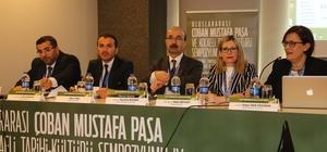 Çoban Mustafa Paşa Sempozyumu sona erdi
