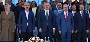Akdeniz Sahil Yolu Projesi Tünel Açılış Töreni