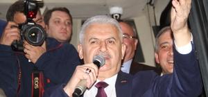 Başbakan Yıldırım Muğla'da