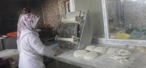 Tandır ekmeğiyle geçim