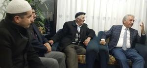 Başkan Çalkın ve Milletvekili Kuzu'dan esnafa ziyaret