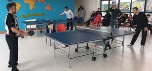 TED Şanlıurfa Kolejinde masa tenisi heyecanı