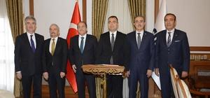 Vali Toprak MSB Bakan Yardımcısı Şuay Alpay'ı makamında ağırladı