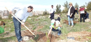 15 Temmuz şehitleri için hatıra ormanı oluşturuldu