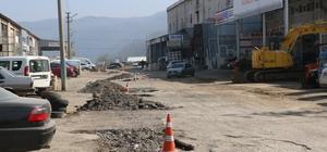 Kdz. Ereğli'de sanayi esnafı asfalt istiyor