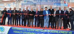 Hayrabolu Meydan Düzenlemesi ve Yeraltı Otopark'ın Temeli atıldı