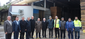 Milletvekili Demir'den SFC Entegre'ye ziyaret