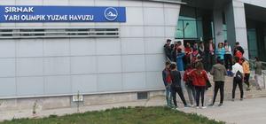 Şırnak'a yarı olimpik yüzme havuzu