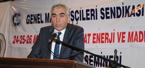 HATTAT enerji Amasra kömür işletmesi semineri yapıldı