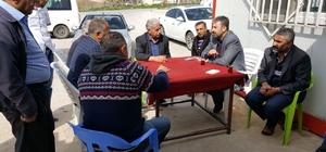 Başkan Dimez, referandum çalışmalarında 'dur durak' bilmiyor