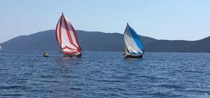 Bodrum da tirhandil yelken yarışları 3'ücü ayak tamamlandı
